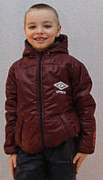 Курточка на мальчика весна-осень бордо, фото 1