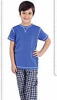 Пижама летняя для мальчиков: футболка с коротким рукавом и шорты