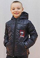 Курточка на мальчика Губка Боб темно-синяя, фото 1