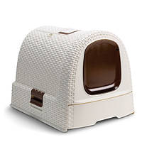 Туалет для кошек Curver 00615 (51x38.5x40см)