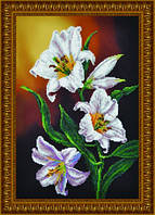 """Набор для вышивания бисером """"Ветка лилии"""" (по картине Елены Самарской) P-098"""