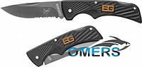 Нож Gerber Bear Grylls Compact Scout, серрейторное