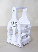 """Винная подставка """"Бокал"""" на 4 бутылки"""