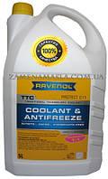 Антифриз RAVENOL TTC - Protect C11 Concentrate– желтый концентрат, 5л