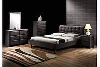 Кровать Halmar Samara Black