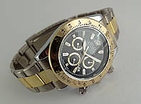 Мужские часы Rolex Daytona черный цвет циферблата, хит
