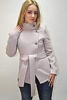 Пальто кашемировое воротник-стойка Vizitm 0096
