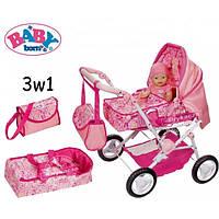 Коляска для кукол Baby Born 3 в 1 Zapf Creation 819654