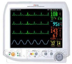 Монитор реанимационный и анестезиологический для контроля ряда физиологических параметров МИТАР-01-«Р-Д» комплект №6