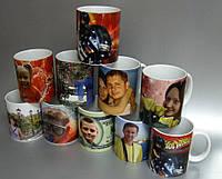 Чашка с фотографией керамическая