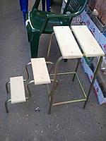 Стул-кресло стремянка,материал дерево,цвет натуральный,Производитель Украина Харьков.