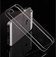 Прозрачный силиконовый чехол  для Iphone 4, 4S