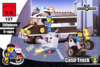 Конструктор Brick 127 Инкассаторский фургон