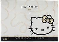 Папка на кнопке А4 KITE 2013 Hello Kitty 200-2