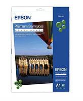Фотобумага Epson A4 Premium Semigloss Photo Paper 20 листов (C13S041332)