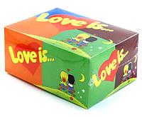 Жевательная резинка Love is микс Сладкая помощь Вкусная помощь Sweet help