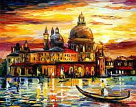 Картины по номерам на холсте 50 × 65 см Золотое небо Венеции худ. Афремов, Леонид