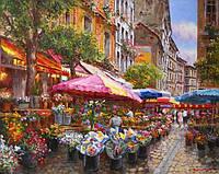 """Наборы для рисования 40 × 50 см. """"Цветочный базар"""" худ. Sung Sam Park"""