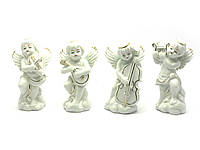 Музыкальные ангелы - комплект 4 фигурки