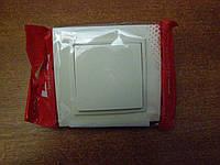 Выключатель одинарный EL-BI, ZENA Кремовый