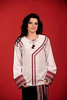 Стильная вышиванка женская  Жіноча блуза Модель:ЖБ-58-120