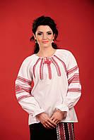 Вышиванка женская с вертикальными вставками. Жіноча блуза Модель:ЖБ-59-81