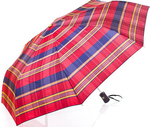 Мужской элегантный зонт, полный автомат ТРИ СЛОНА RE-E-103-3 Антиветер!