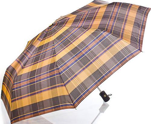 Мужской модный зонт, полный автомат ТРИ СЛОНА RE-E-103-1 Антиветер!