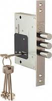 Дверной замок  Kale  257/L  (без ответной планки и декоративных накладок) никель 5 кл