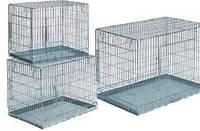 Camon Клетка для собак металлическая с двумя входными дверьми