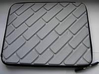 Качественный чехол планшет противоударный серый 26 x 21 x 2 см.  от 10-12 дюймов