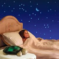 Детский ночник черепашка звездное небо Nighttime Turtle constellation с музыкой.