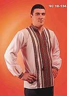 Вышиванка мужская с красивым рисунком. Сорочка чоловіча Модель:ЧС-10-134