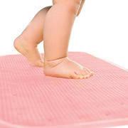 Детский антискользящий коврик в ванную XL ТМ KinderenOK Розовый