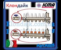 Icma Коллектор с расходомерами, регулировка ручная или терморегулирующая 4