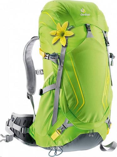 Удобны, женский рюкзак 32 л. DEUTER SPECTRO AC 32 SL, 34832 2822 зелёный