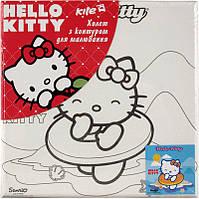Холст для рисования (20х20) + краски KITE 2014 Hello Kitty 216