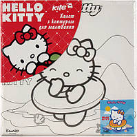 Холст для рисования (20х20) + краски KITE 2014 Hello Kitty 216-2