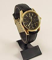 Часы наручные Rolex 012542 золото с черным, календарь