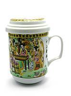 Чашка для чая заварочная Гейши