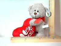 Медвежонок с сердечком , 25 см