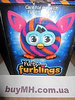 Furby Furbling Critter (Orange and Blue Diagonal Stripes) Ферби Ферблинг (Диагональные линии)