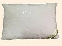 Подушка из натурального шелка в жаккардовом чехле