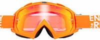 Мотоочки маска Oneal B-Flex Launch оранжевый/иридиум