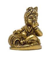 Статуэтка Кришна из бронзы