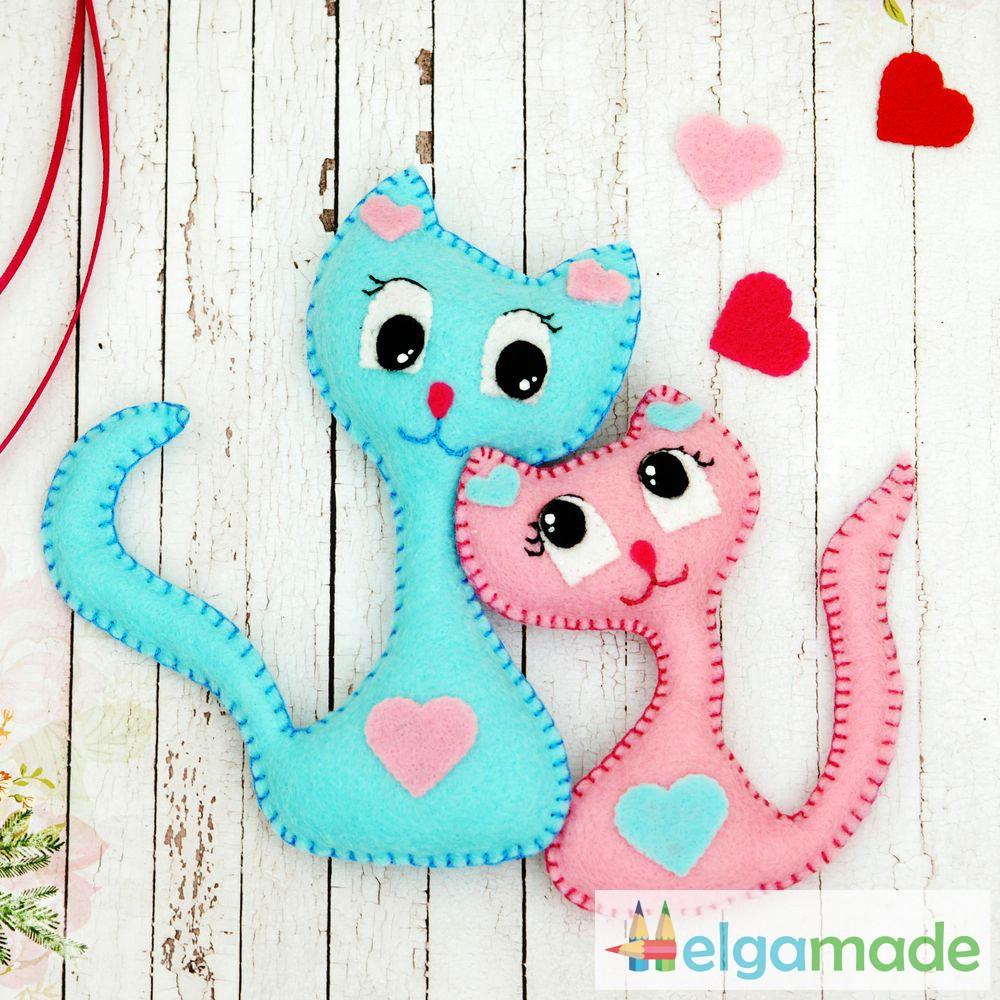 Красивые игрушки своими руками из фетра 39