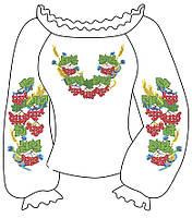 Заготовки женских сорочек для вышивания 032