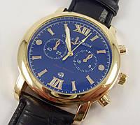 Мужские часы Ulysse Nardin 6717 золото с черным наручные