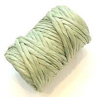 Бумажный шнур серо-зеленый (примерно 14 м)