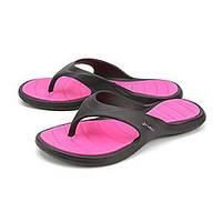 Женские пляжные вьетнамки Rider Island V pink-black IS-04026